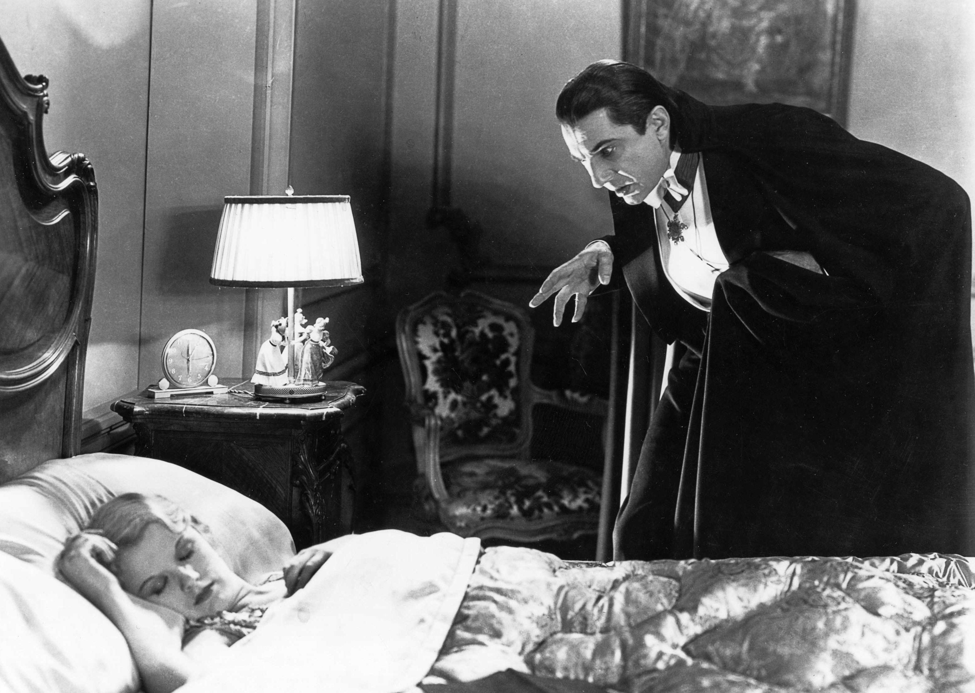 Image result for dracula standing over girl in bed