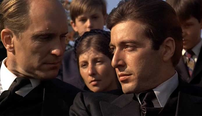 How does Goodfellas compare to The Godfather?