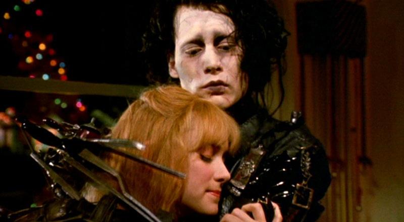 Kathy Baker Edward Scissorhands Scene Edward scissorhands (1990)