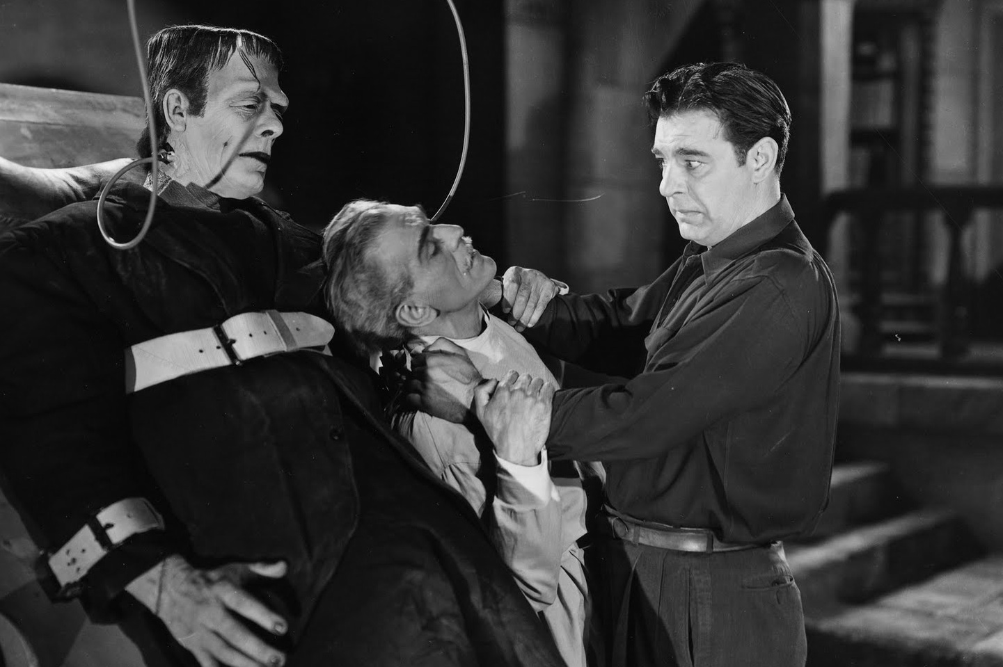 What is the significance of the opening & closing scenes of Frankenstein?