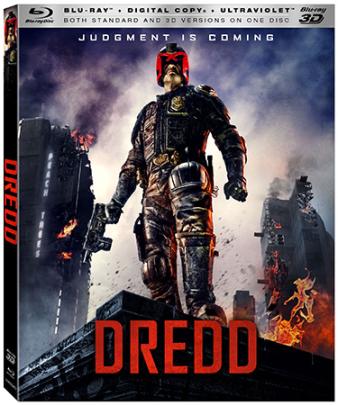 Dredd Blu-ray Cover