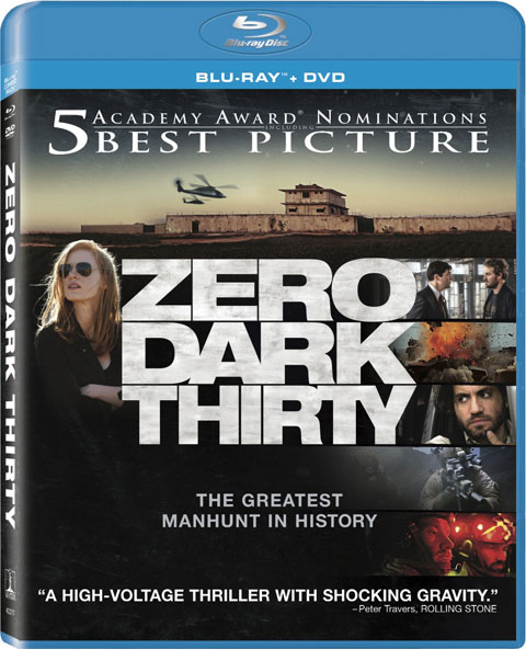 Zero Dark Thirty Blu ray