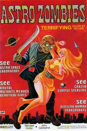 Astro Zombies Poster