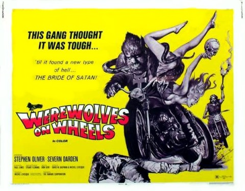 Werewolves on Wheels Poster
