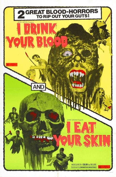 I Drink Your Blood Poster