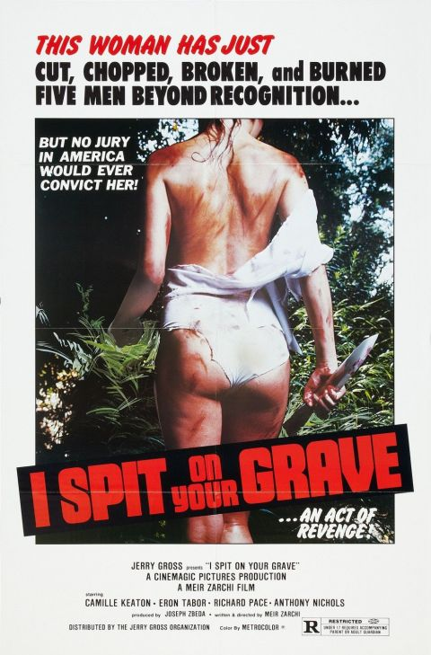I Spit on Your Grave Poster