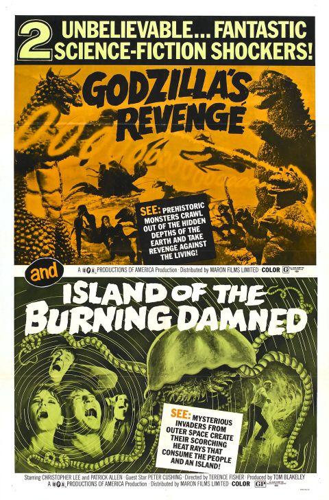 Godzilla's Revenge Poster #2